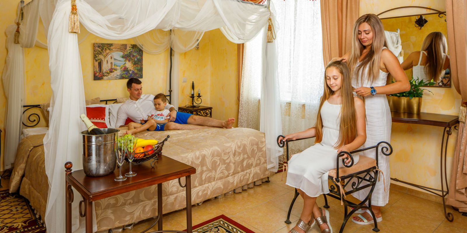 Suite «Dolce Vita» - Отель «ALEAN FAMILY RESORT & SPA RIVIERA 4* / Ривьера»